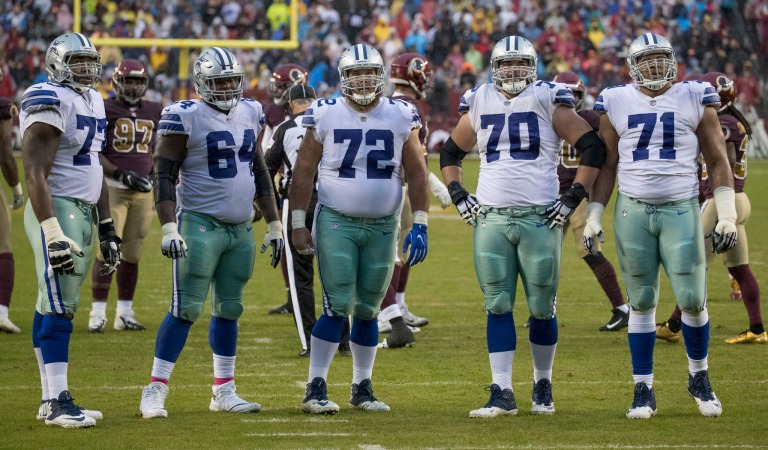 Dallas Cowboys Offensive Line