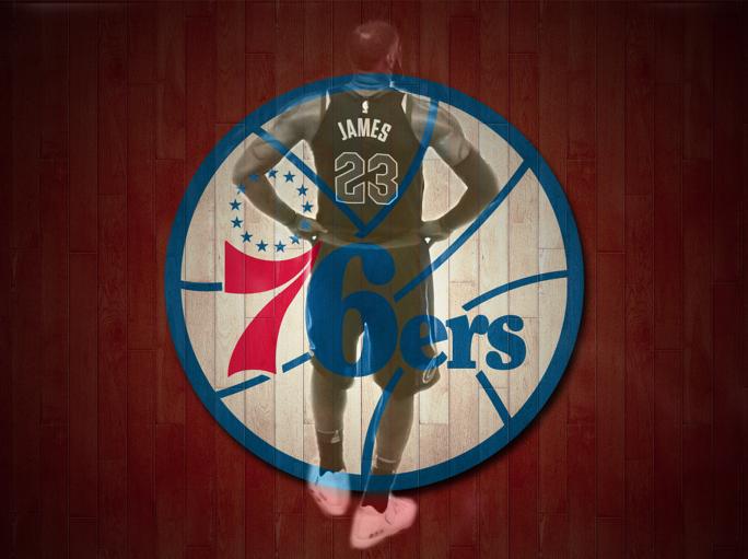 76ers LeBron