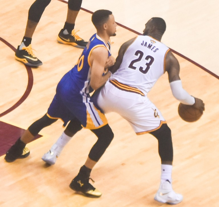 LeBron James and Steph Curry